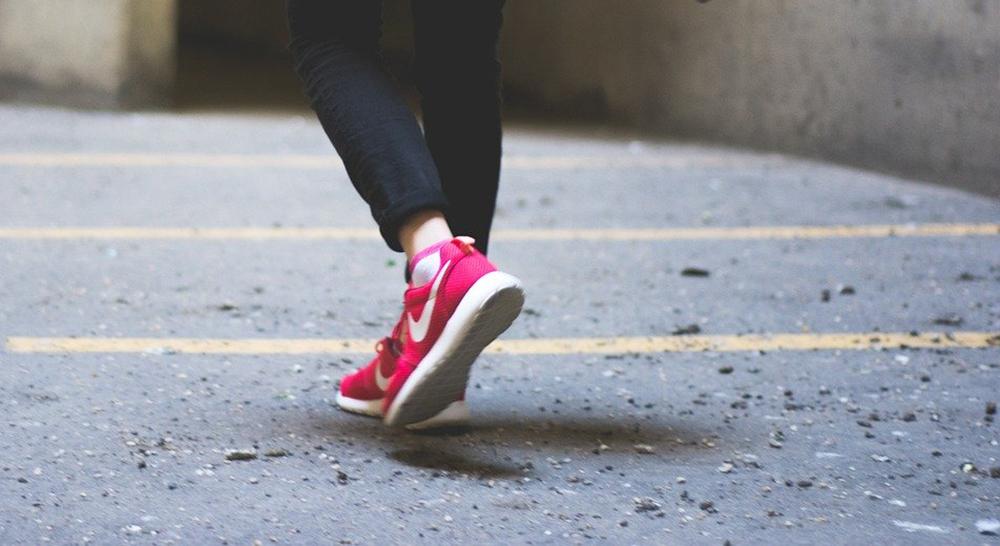 毎朝のウォーキング早朝5時。低体温症の人には、運動の後の生ジューズがおすすめ