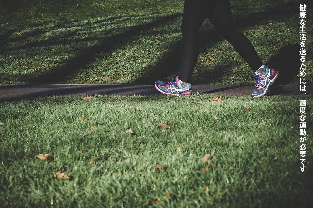 健康な生活を送るためには、適度な運動が必要です