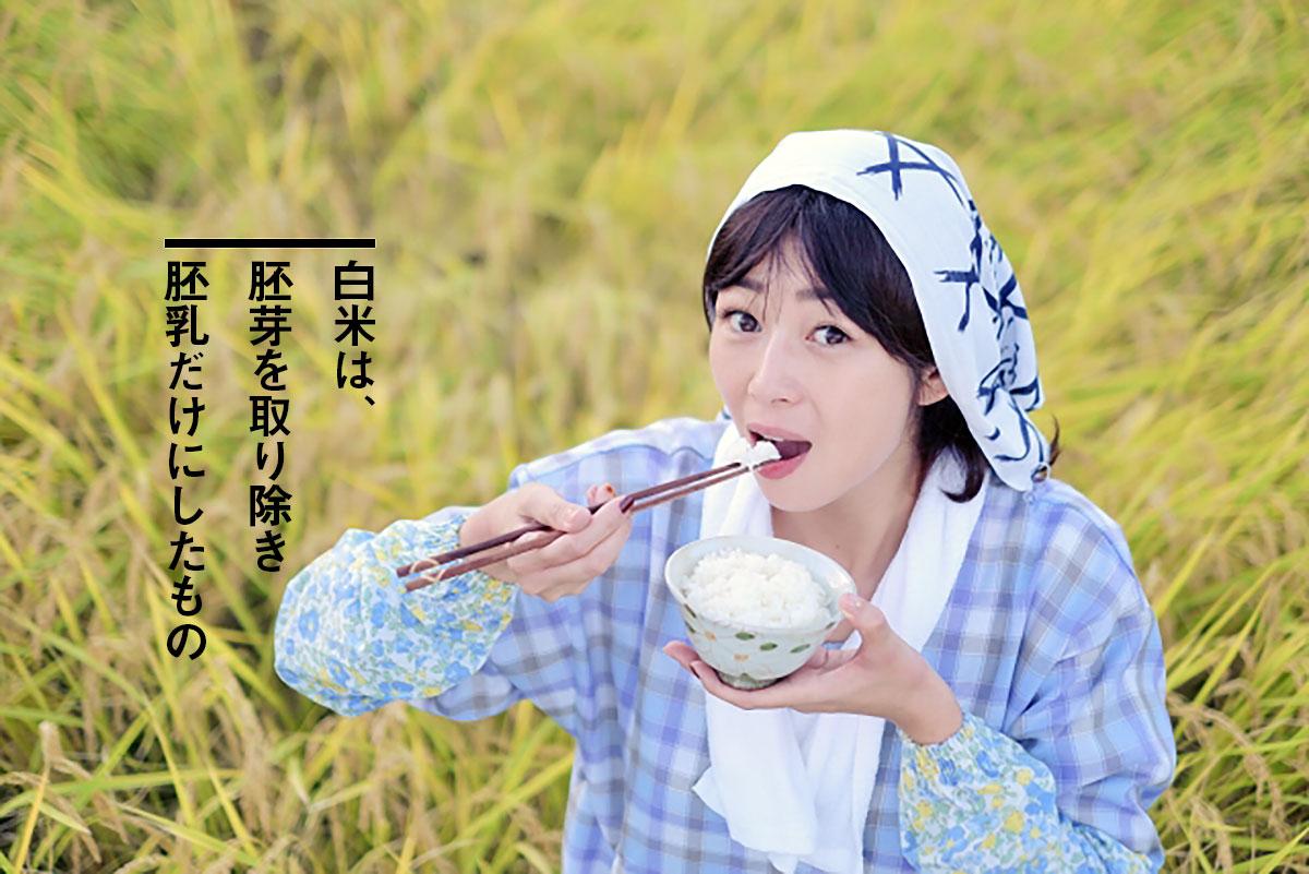 食生活改善なら白米より玄米がおすすめ【白米は酸化した死んだ食物】