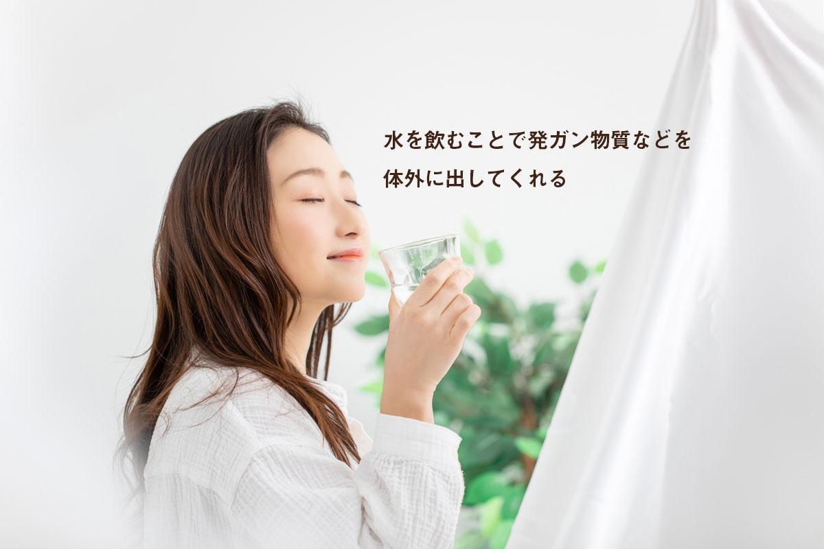 毎日水を飲むのは、よい生活習慣【病気にならないための健康の知恵】