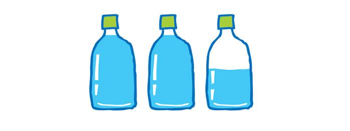 健康のため水を飲もう