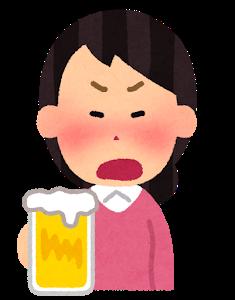 過度な飲酒は控える
