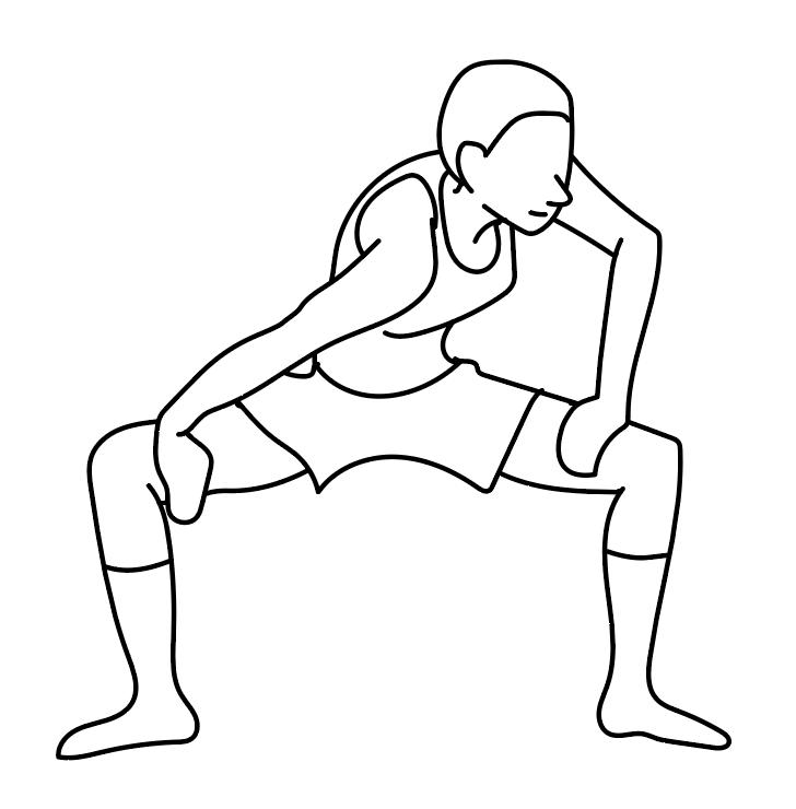 股関節ストレッチで『ぎっくり腰』予防