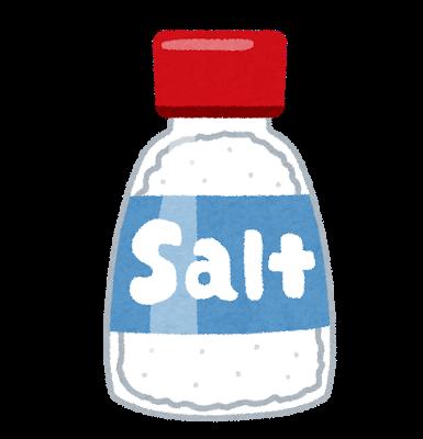 血圧の高い人は、食塩の1日摂取目標:6g