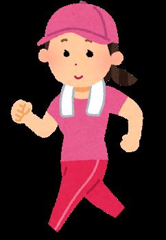 筋肉トレーニングの無酸素運動を行った後にウォーキングなどの有酸素運動をバランス良く行う